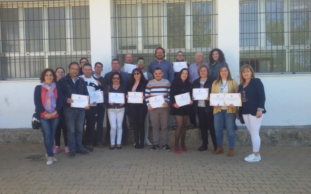 """Acto de clausura del curso """"Conserje"""" en Medina Sidonia"""