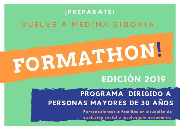 ¡Vuelve FORMATHON! a Medina Sidonia