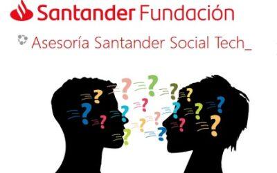 Invitados a participar en la nueva edición Santander Social Tech