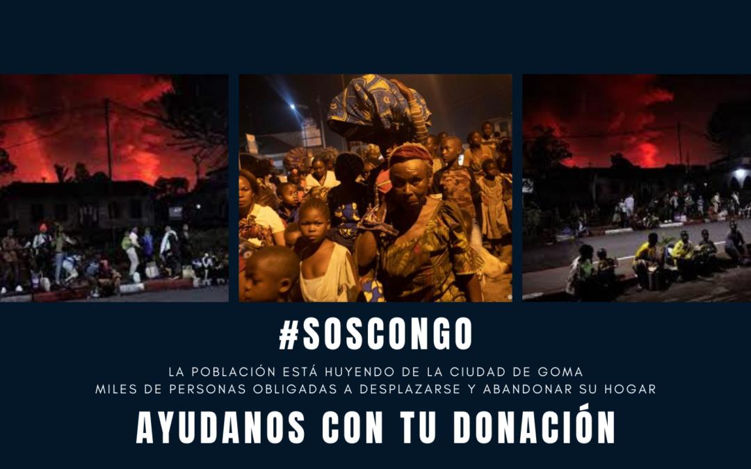 #SOSCongo Emergencia en RDC